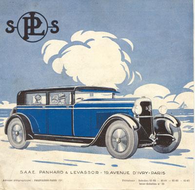 1927 Panhard PL Panhard folder