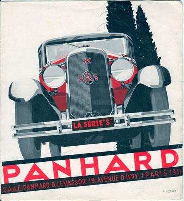 1931 Panhard Serie Panhard S