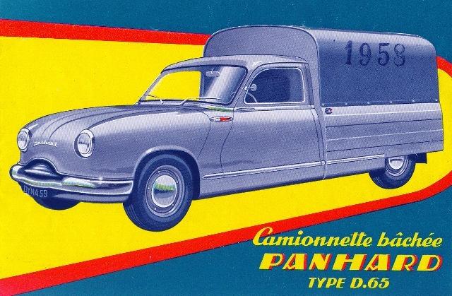 1958 Panhard Dyna Z D65