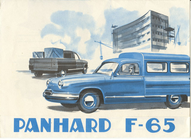 1960 Panhard Dyna Z F65