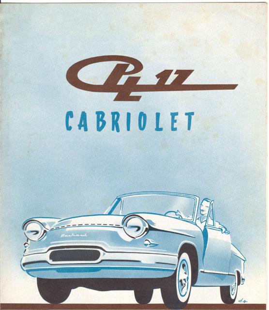 1961 Panhard PL17-L5cabrio Panhard L5