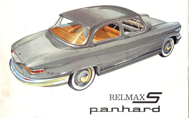 1964 Panhard PL17 Panhard RelmaxS Panhard L6