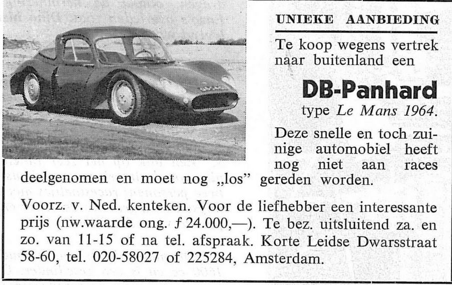 DB advertentie