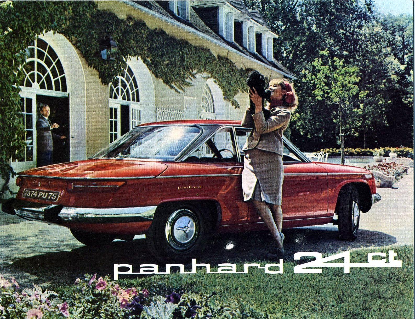 Panhard - 24 CT Oranje -2