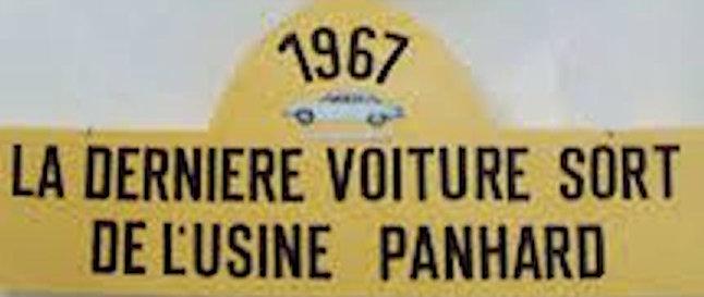 Panhard 24 Dernière voiture
