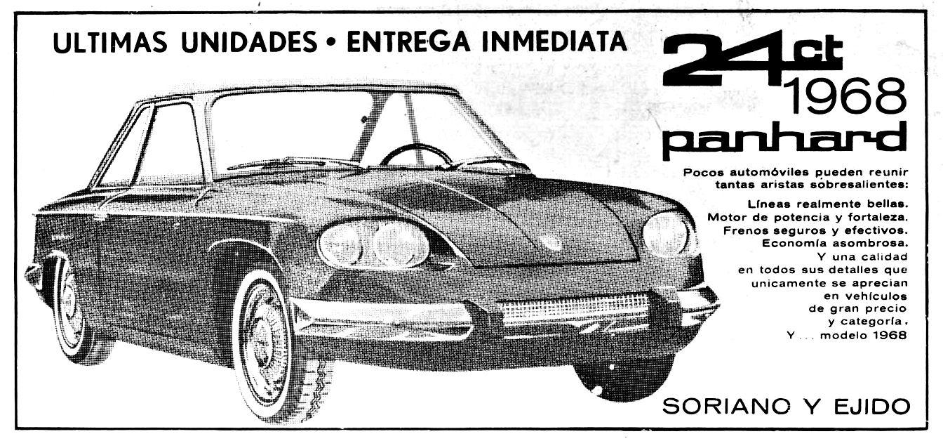 Panhard 24CT 1968