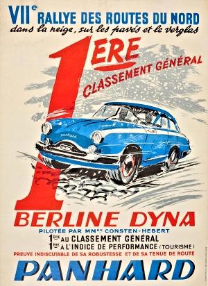Panhard Berline Dyna Z Rallye