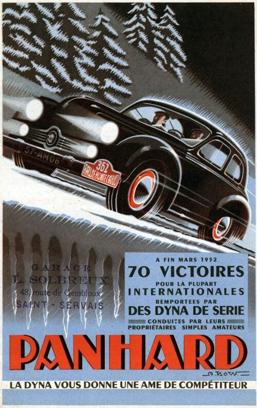 Panhard Dyna X 70 victoires