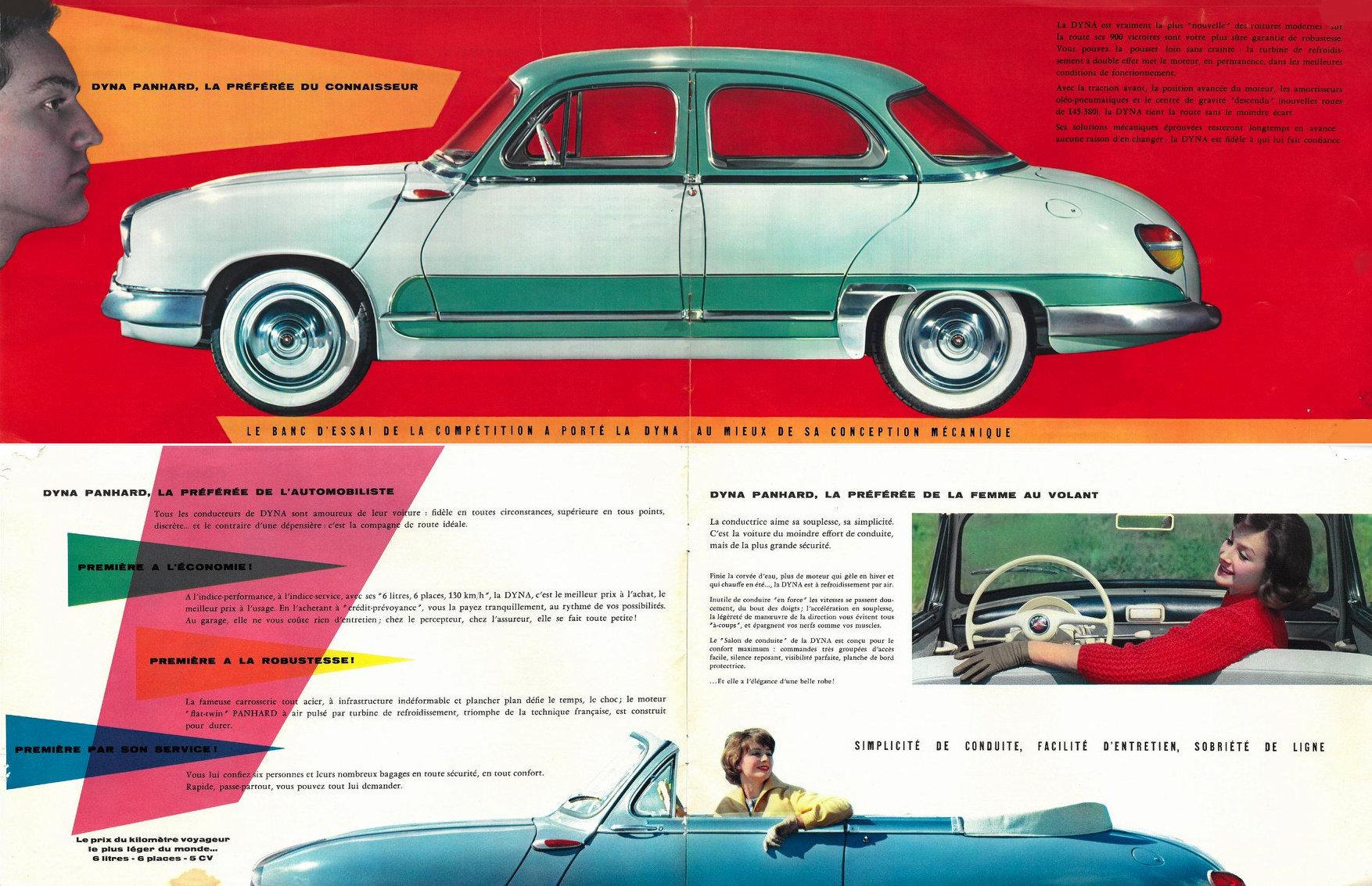 Panhard Dyna Z Brochure 1960 - 4