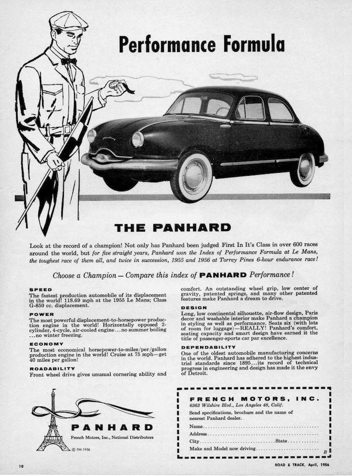 Panhard Dyna Z LA
