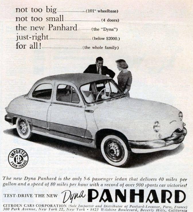 Panhard Dyna Z New York
