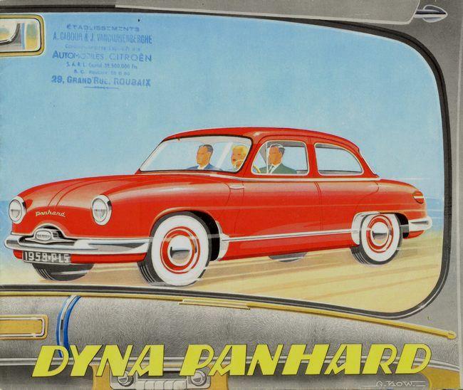 Panhard Dyna Z Roubaix