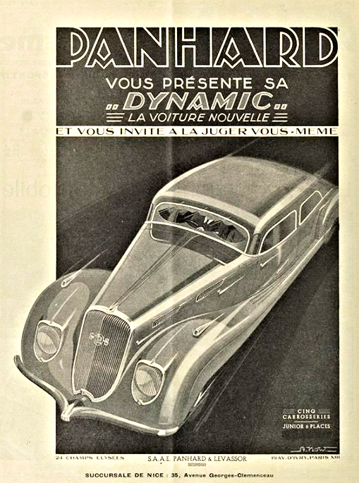 Panhard Dynamic Cinq carrosseries