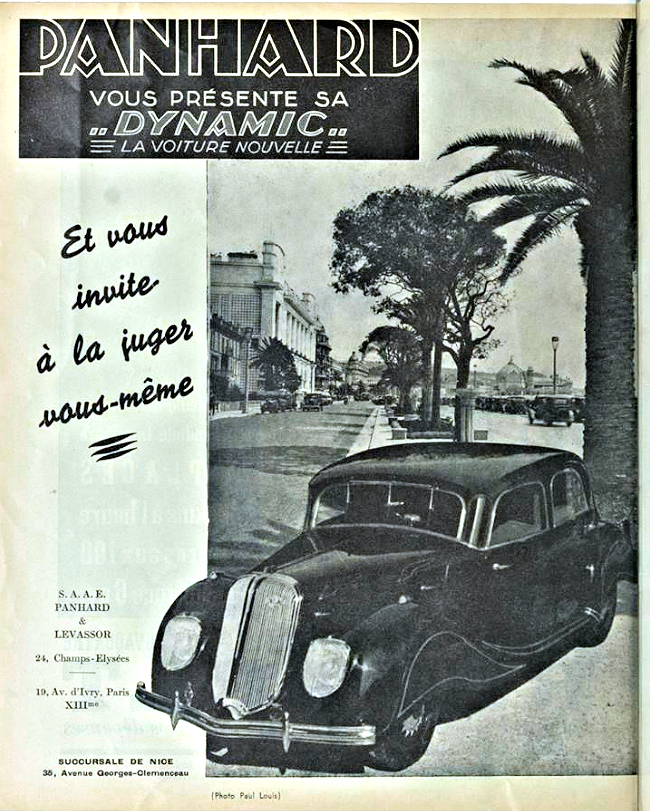 Panhard Dynamic voiture nouvelle