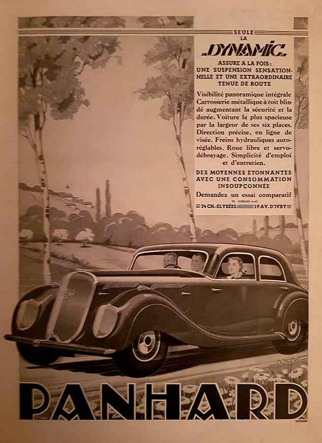 Panhard Dynamique affiche