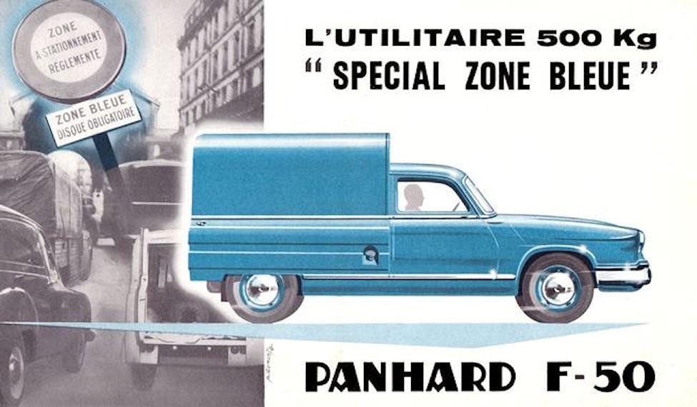 Panhard F-50 Zone Bleue