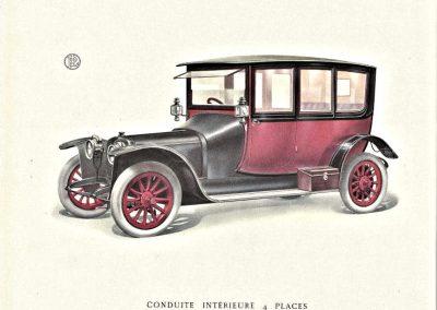 Panhard & Levassor Catalogus 1913 - 20