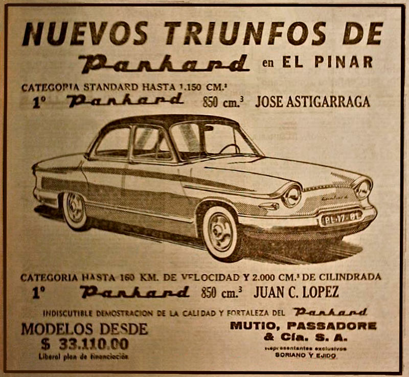 Panhard Nuevos Trionfos PL17