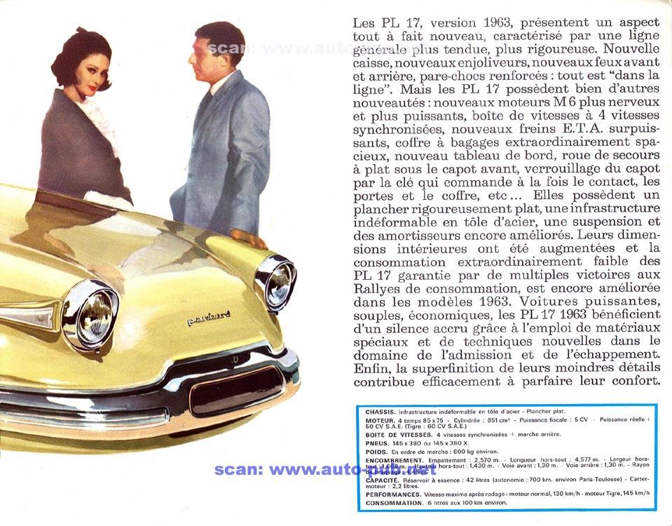 Panhard PL17 Brochure 2