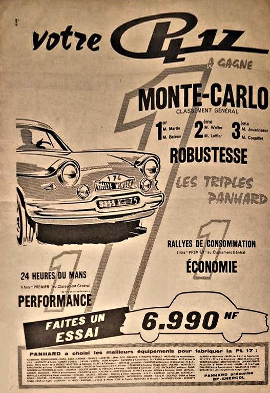 Panhard PL17 Monte Carlo