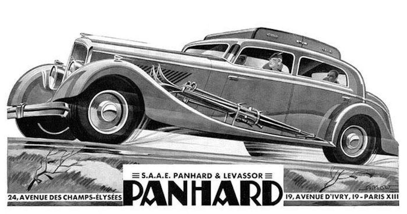 Panhard Panoramique DS Special 1934 Alexis Kow
