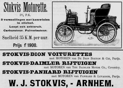 Panhard Stokvis importeur