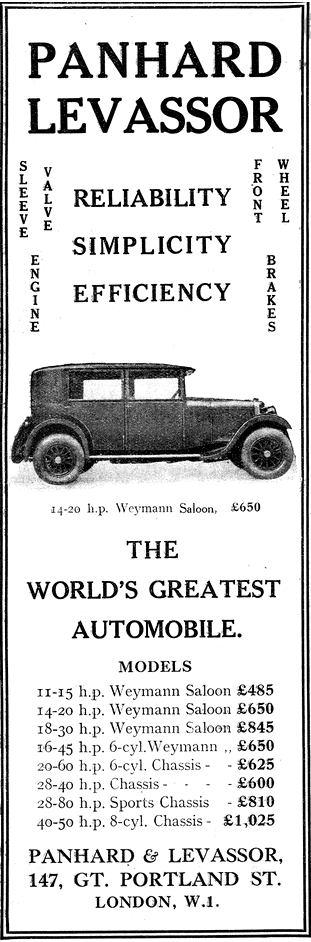 Panhard Weyman Saloon