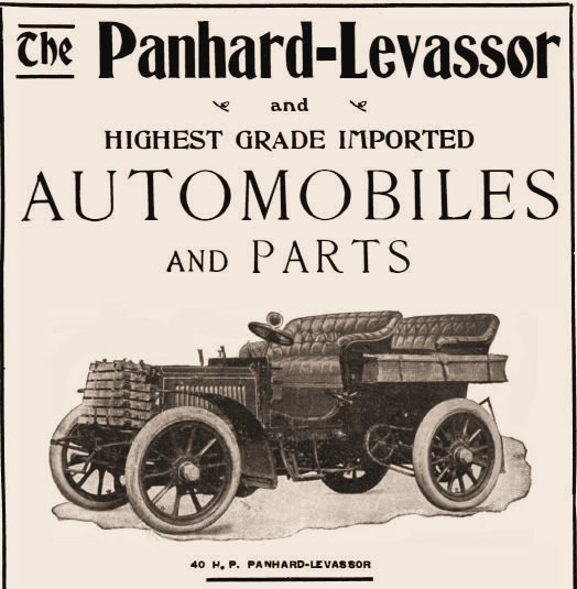 Panhard automobiles and parts