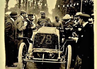 1903 Panhard 70 CV Parijs Madrid