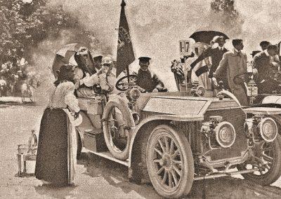1906 Panhard & Levassor 50HP 10 liter Koning-Alphonse-XIII-Spanje