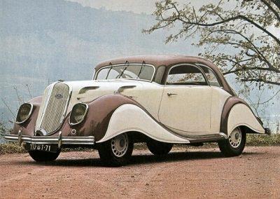 1936-X81 Panhard & Levassor Dynamique Coupé Beige bruin - 16