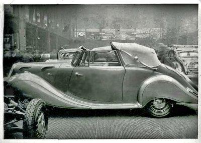Panhard Dynamique decapotable Parijs Salon 1937